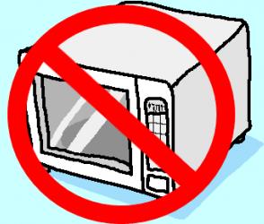 10 problemas são causados ao homem pelo uso do micro-ondas.